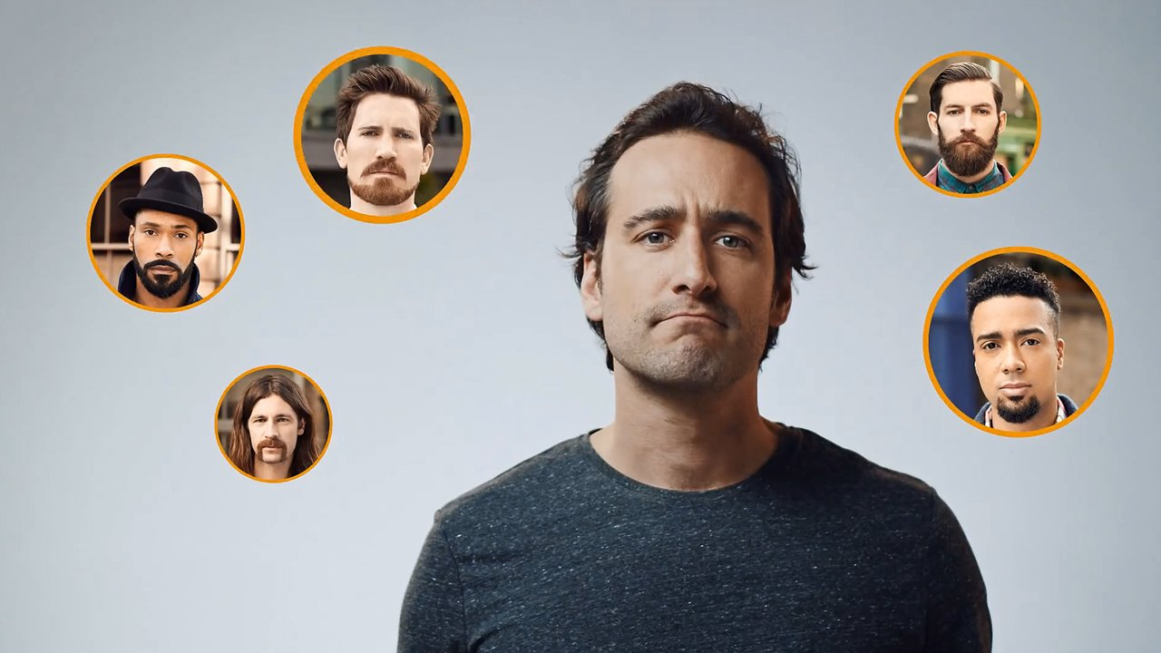 Near-realistic rendering of beards for the Philips Grooming app