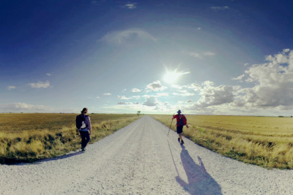 Walk with us in the 'Camino de Santiago' in 360°